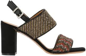 Maliparmi Heeled Sandals Shoes Women