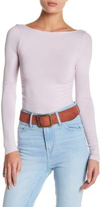 Free People Ballet Style Fitted Top