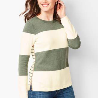 Talbots Mixed Stripe Sweater