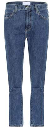 Current/Elliott The Vintage Cropped Slim high-rise jeans