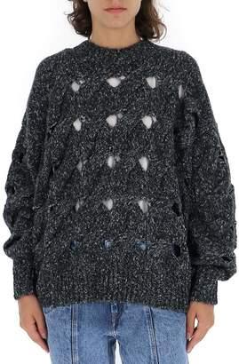 Etoile Isabel Marant Crochet Detail Sweater