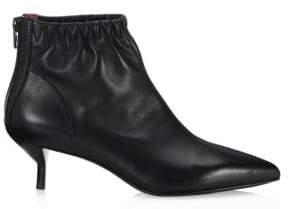 3.1 Phillip Lim Blitz Leather Kitten-Heel Boots