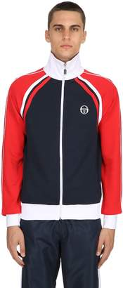 Sergio Tacchini Archive Zip-Up Tech & Cotton Sweatshirt