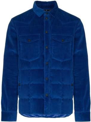 Moncler padded corduroy jacket