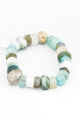 Slate Gray Gallery Aquamarine Crystal Bracelet