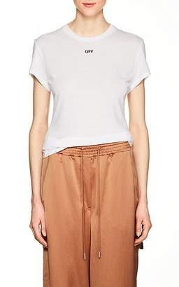 Off-White Women's Fern-Print Jersey T-Shirt
