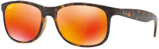 Ray-Ban Polarized Andy Sunglasses, RB4202 55