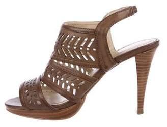 Adrienne Vittadini Cutout Slingback Sandals