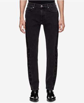 Calvin Klein Jeans Men's Slim-Fit Side Stripe Jeans Ckj 026