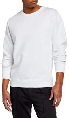 Ovadia & Sons Men's NMX Dune Distressed Long-Sleeve Sweatshirt