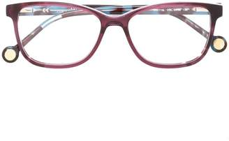 Carolina Herrera Ch rectangular shape glasses