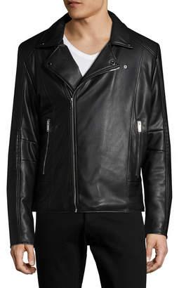 Karl Lagerfeld Asymmetrical Motorcycle Jacket