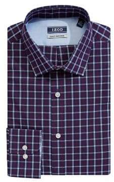 Izod Plaid Dress Shirt