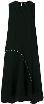 Versus sleeveless eyelet dress