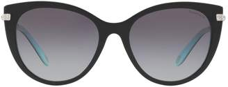 Tiffany & Co. Havana Cat Eye Sunglasses