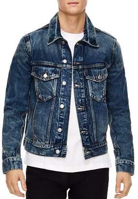 Sandro America Destroy Denim Jacket