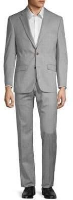 Lauren Ralph Lauren Classic-Fit Textured Ultraflex Suit