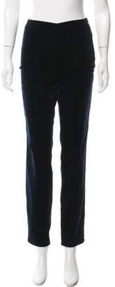 Closed Velvet Mid-Rise Straight-Leg Pants w/ Tags