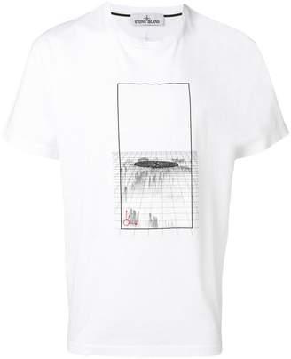Stone Island printed crewneck T-shirt