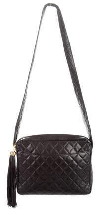 Chanel Vintage Quilted Camera Bag