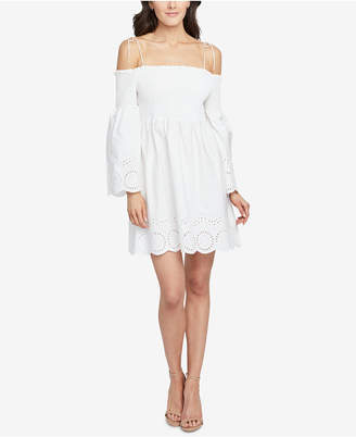 Rachel Roy Cotton Off-The-Shoulder Dress, Created for Macy's