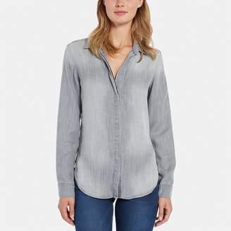 Bella Dahl Long-Sleeve Button Back Shirt