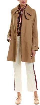 Gucci Silk-Lined Coat