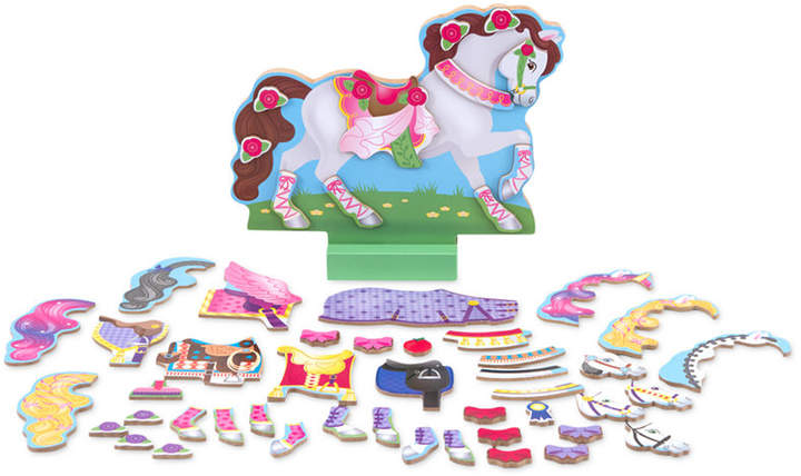 Melissa and Doug Kids' My Horse Clover Magnetic Dress-Up Toy