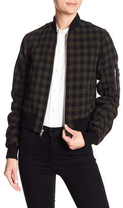 A.L.C. Andrew Wool Bomber Jacket