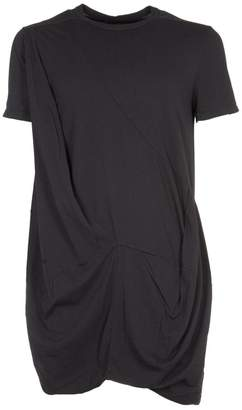 Drkshdw Rick Owens Asymmetric Cut T-shirt