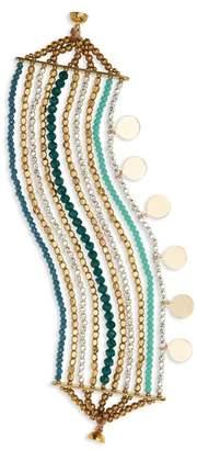 Panacea Multi Strand Beaded Bracelet