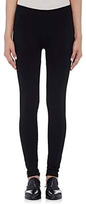 Helmut Lang Women's Stretch-Microfiber Leggings - Blk