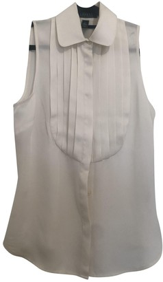 Lauren Ralph Lauren Ecru Silk Top for Women