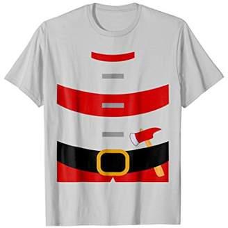 Firefighter Uniform Costume T-Shirt   Fireman Shirt