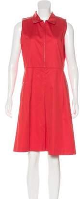 Armani Collezioni Pocketed Zip-Up Dress w/ Tags