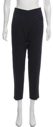 Gerard Darel High-Rise Straight-Leg Pants