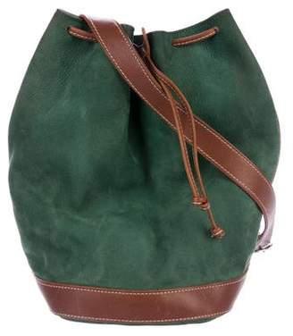 Courreges Nubuck Bucket Bag