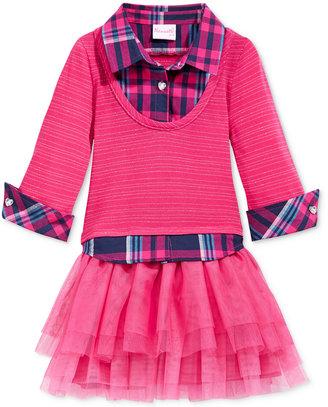 Nannette Little Girls' Layered-Look Tutu Dress $54.99 thestylecure.com