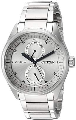 Citizen Men's 'Dress' Quartz Stainless Steel Casual Watch
