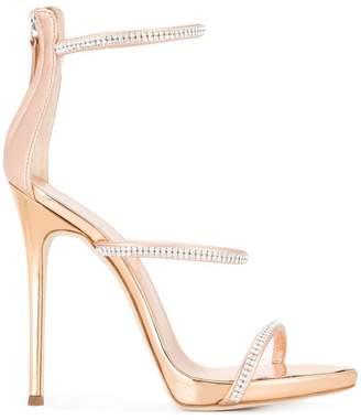 Giuseppe Zanotti Design embellished strappy sandals