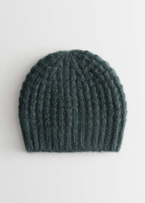 6ee7589e7be6 And other stories Cable Rib Knit Beanie