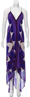 Nicole Miller Silk Maxi Dress