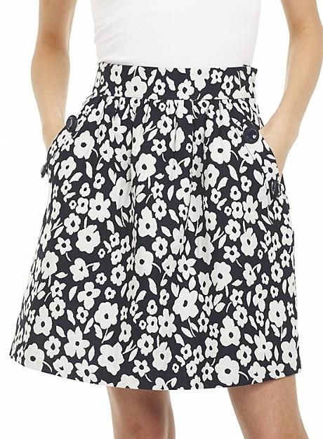 Tibi African Violet Full Skirt