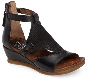 Women's Miz Mooz Maisie Wedge Sandal $149.95 thestylecure.com