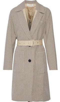 Vanessa Bruno Manteau Belted Cotton Jacquard Coat