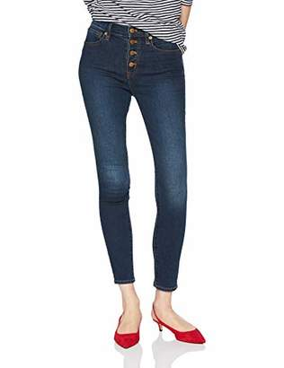 J.Crew Mercantile Women's Highrise Skinny Jean with Exposed Buttons