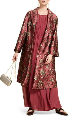 Marina Rinaldi Trousse Brocade Coat