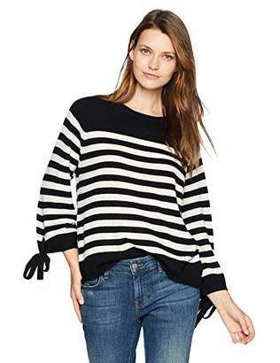 Velvet by Graham & Spencer Women's Cacey Cashmere Classic Sweater