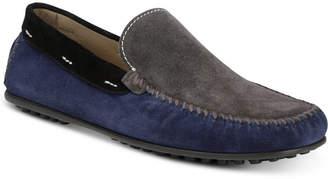 Donald J Pliner Men's Santos Colorblocked Moc-Toe Slip-Ons Men's Shoes
