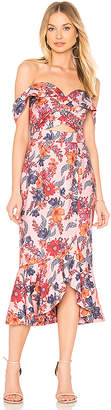 Finders Keepers Rhapsody Midi Dress